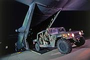 © Hummer exiting from MC-130 Combat Talon Herk