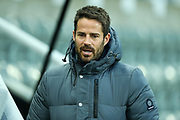 Sky Sports analyst Jamie Redknapp ahead of the Premier League match between Newcastle United and Chelsea at St. James's Park, Newcastle, England on 18 January 2020.