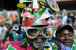 Johannesburg South Africa Opening Ceremony Confederations Cup 2009 14.06.2009.Bafanan Bafana Fan.