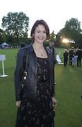 Jasmine Guinness. Louis Vuitton Concours d'Elegance, Hurlingham.  8 June 2002.  Copyright Photograph by Dafydd Jones 66 Stockwell Park Rd. London SW9 0DA Tel 020 7733 0108 www.dafjones.com