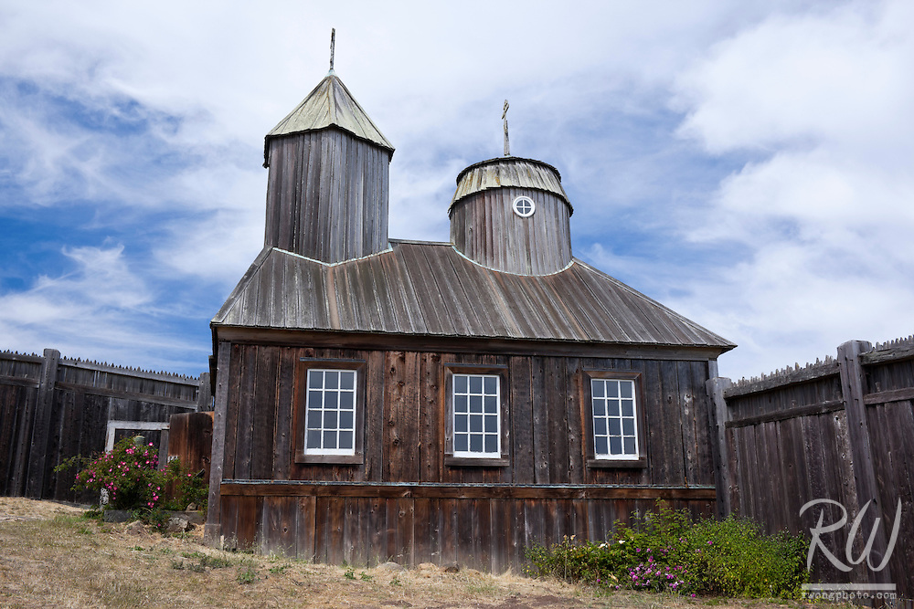 Holy Trinity Chapel, Fort Ross State Historic Park, California