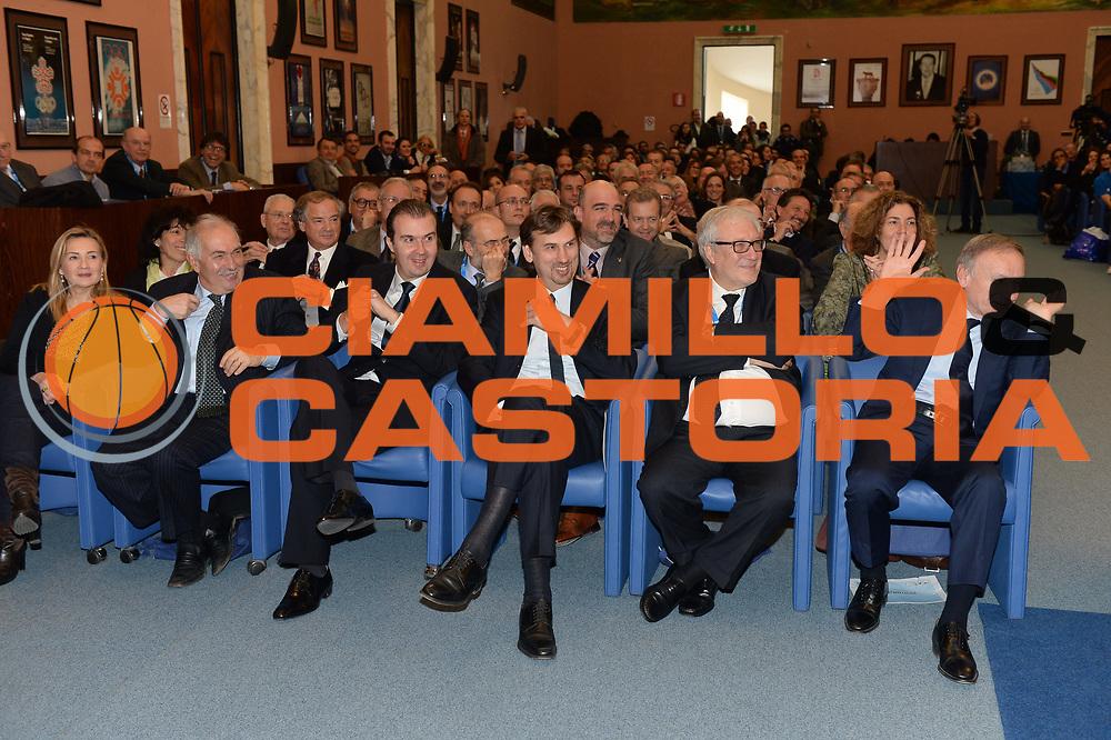 DESCRIZIONE : Roma Basket Day Hall of Fame 2013<br /> GIOCATORE : Maifredi Pianigiani Bertea Laguardia Petrucci<br /> SQUADRA : FIP Federazione Italiana Pallacanestro <br /> EVENTO : Basket Day Hall of Fame 2013<br /> GARA : Roma Basket Day Hall of Fame 2013<br /> DATA : 09/12/2013<br /> CATEGORIA : Premiazione<br /> SPORT : Pallacanestro <br /> AUTORE : Agenzia Ciamillo-Castoria/GiulioCiamillo