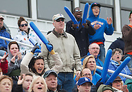 October 30, 2010 - Fans react during Worcester State University's Homecoming football game against Fitchburg State. (MATT WRIGHT for Worcester State University)