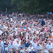 July 17, 2012 - New York, NY : Concertgoers listen as the New York Philharmonic performs in Central Park on Monday evening. CREDIT: Karsten Moran for The New York Times
