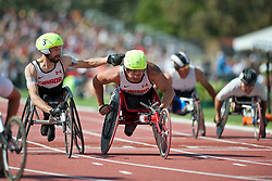 LAKATOS Brent, THOM Curtis, CAN, 4x400m Relay, T53/54, 2013 IPC Athletics World Championships, Lyon, France