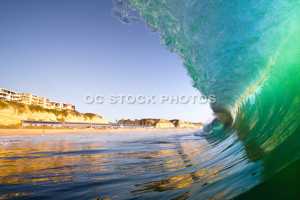 Waves Crashing on San Clemente Beach