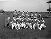 17/03/1958<br /> 03/17/1958<br /> 17 March 1958<br /> Interprovincial League: Munster v Leinster at Croke Park, Dublin. Munster Team.