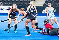 Londen -   tijdens de cross over wedstrijd Argentinie-Nieuw Zeeland (2-0)  bij het WK Hockey 2018 in Londen .  COPYRIGHT KOEN SUYK