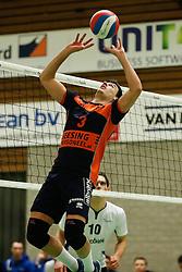 20170125 NED: Beker, Sliedrecht Sport - Seesing Personeel Orion: Sliedrecht<br />Stijn Held (3) of Seesing Personeel - Orion<br />&copy;2017-FotoHoogendoorn.nl / Pim Waslander