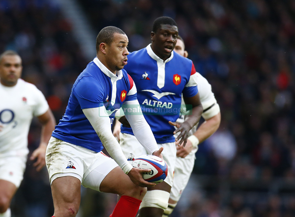 February 10, 2019 - London, England, United Kingdom - Gael Fickou of France..during the Guiness 6 Nations Rugby match between England and France at Twickenham  Stadium on February 10th,  in Twickenham, London, England. (Credit Image: © Action Foto Sport/NurPhoto via ZUMA Press)