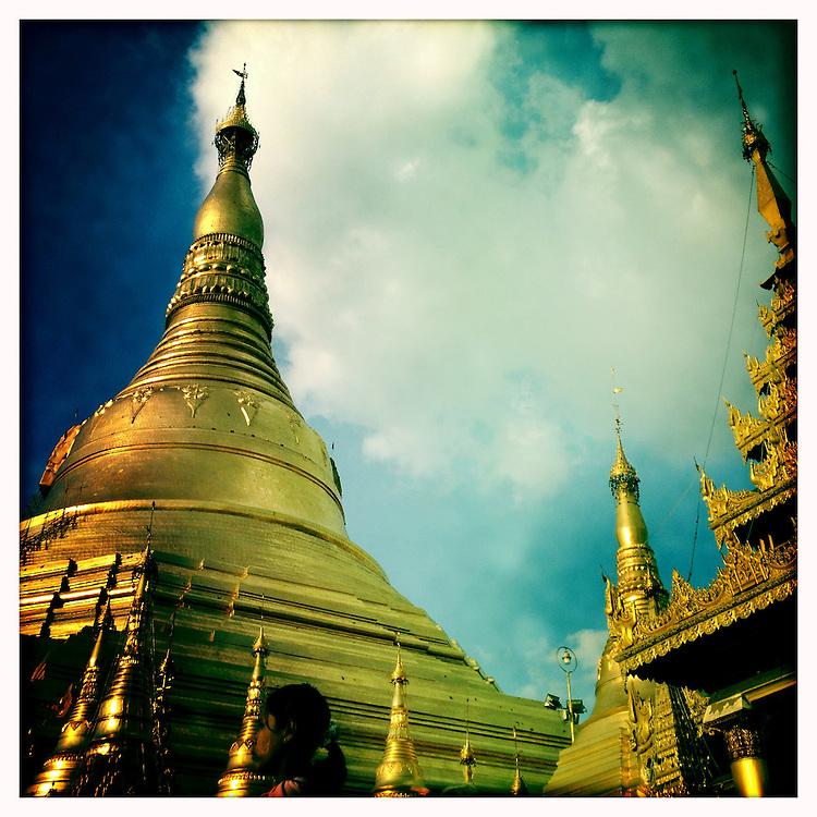 Shwedagon Paya - Yangon (Rangoon) Myanmar (Burma) January 2012