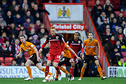 Bristol City Forward Ryan Taylor (ENG) in action during the first half of the match - Photo mandatory by-line: Rogan Thomson/JMP - Tel: Mobile: 07966 386802 01/12/2012 - SPORT - FOOTBALL - Ashton Gate - Bristol. Bristol City v Wolverhampton Wanderers - npower Championship.
