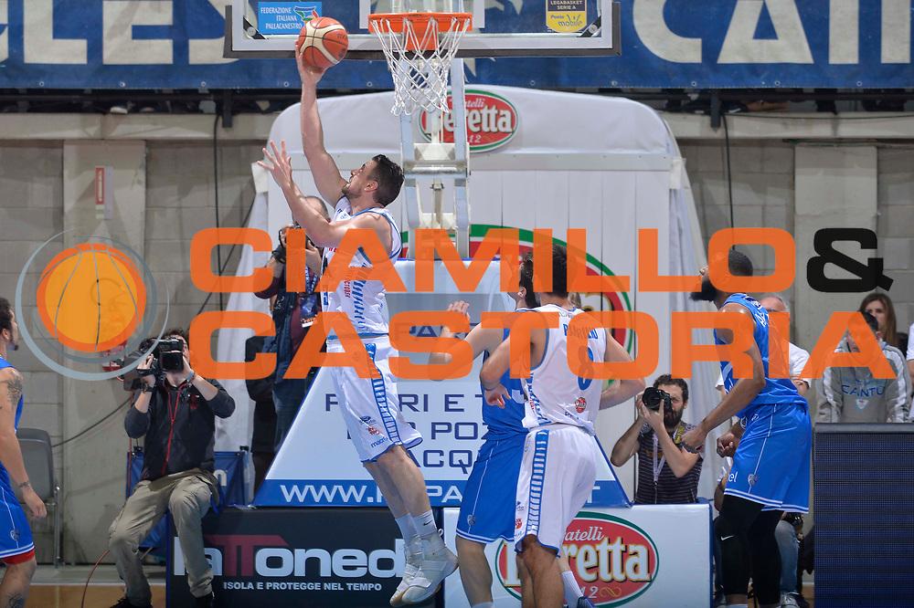 Craig Callahan<br /> Mia Cantu - Enel New Basket Brindisi<br /> Lega Basket Serie A 2016/2017<br /> Desio, 19/03/2017<br /> Foto Ciamillo - Castoria