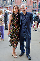 Charlotte de Botton and Alain de Botton at the V&A Summer Party 2017 held at the Victoria & Albert Museum, London England. 21 June 2017.