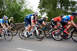 Ellen van Dijk (NED) in the bunch at Stage 3 of 2019 OVO Women's Tour, a 145.1 km road race from Henley-on-Thames to Blenheim Palace, United Kingdom on June 12, 2019. Photo by Sean Robinson/velofocus.com