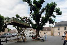 Installation technique à Aubas