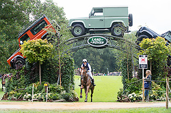 Newton Willa, (GBR), Newmarket Vasco <br /> Cross country<br /> Land Rover Burghley Horse Trials - Stamford 2015<br /> © Hippo Foto - Jon Stroud<br /> 05/09/15