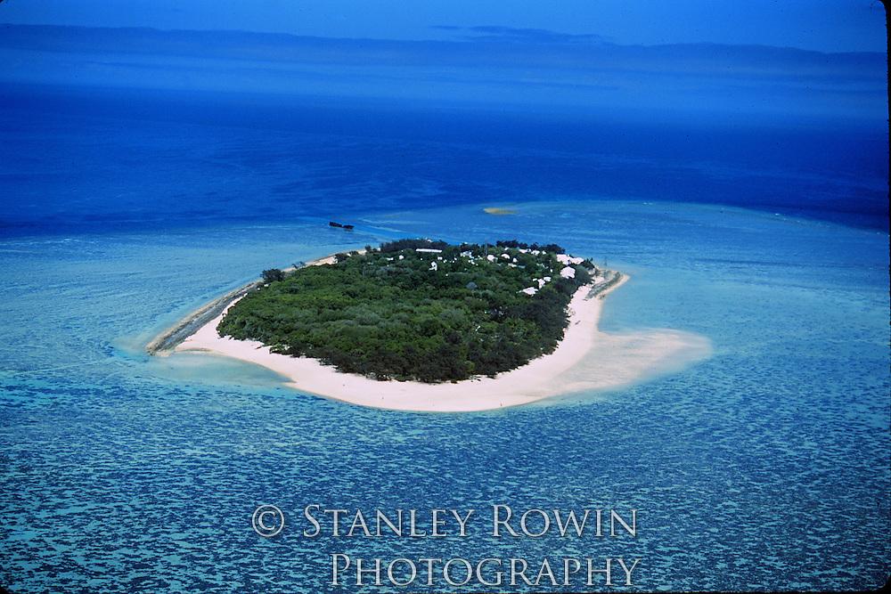 Heron Island, Australia, Aerial View