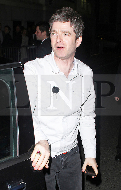 © Licensed to London News Pictures. 19/02/2014, UK. Noel Gallagher, The BRIT Awards 2014 - Warner Music After Party, The Savoy, London UK. Photo credit : Brett D. Cove/Piqtured/LNP