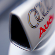 Detail of Audi long distance race car
