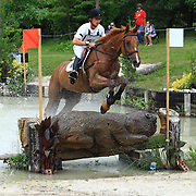 Waylon Roberts and Myrddin's Sebastian at the 2009 Wits End Horse Trials and HSBC FEI World Cup Qualifier in Mansfield, Ontario.