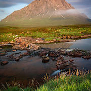 Buchaille Etive Mor, Glencoe at sunrise in the summer of 2016