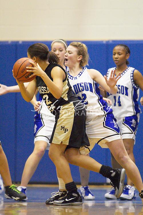Varsity Girls Basketball..vs Manassas Park..February 4, 2005