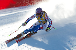 15.01.2012, Pista Olympia delle Tofane, Cortina, ITA, FIS Weltcup Ski Alpin, Damen, Super G, im Bild Tessa Worley (FRA) // Tessa Worley of France during superG race of FIS Ski Alpine World Cup at 'Pista Olympia delle Tofane' course in Cortina, Italy on 2012/01/15. EXPA Pictures © 2012, PhotoCredit: EXPA/ Johann Groder