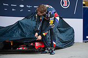 Circuito de Jerez, Spain : Formula One Pre-season Testing 2014. Sebastian Vettel (GER), Red Bull-Renault
