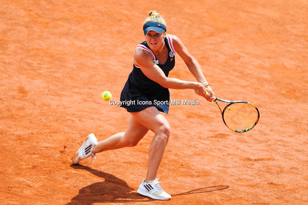 Elina SVITOLINA  - 02.06.2015 - Jour 10 - Roland Garros 2015<br /> Photo : Nolwenn Le Gouic / Icon Sport