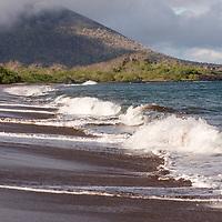Espumilla Beach, Santiago Island, Galapagos Islands, Ecuador.
