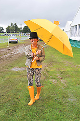 GENEVIEVE ALEXANDER at the 2011 Veuve Clicquot Gold Cup Final at Cowdray Park, Midhurst, West Sussex on 17th July 2011.