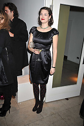 JASMINE GUINNESS at the MAC Salutes party paying tribute to renowned makeup artists held at The Hosptal, Endell Street, London on 22nd February 2009.