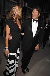 ELLE MACPHERSON and ARPAD BUSSON at the Ark 2007 charity gala at Marlborough House, Pall Mall, London SW1 on 11th May 2007.<br />