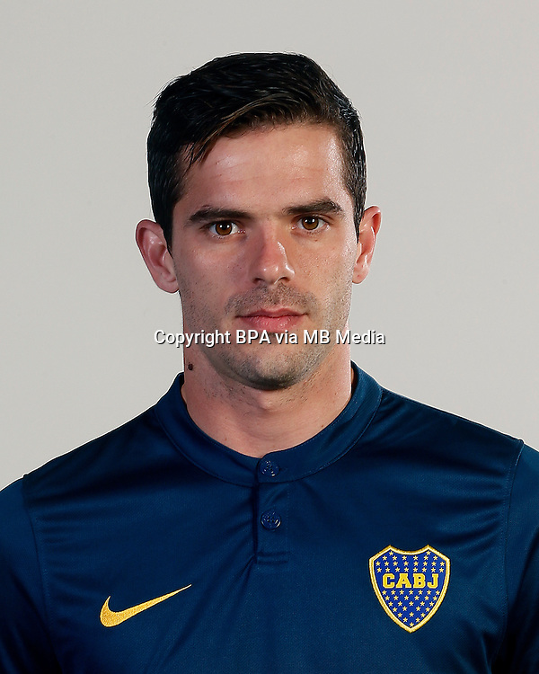 Argentina League - Primera Division 2015 / <br /> Club Atletico Boca Juniors - Argentina - <br /> Fernando Gago