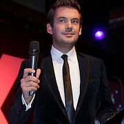 NLD/Amsterdam/20141108 - Inloop JFK Greatest Man of the Year 2014 award, Ruben Nicolai