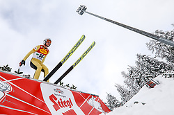 16.12.2017, Nordische Arena, Ramsau, AUT, FIS Weltcup Nordische Kombination, Skisprung, im Bild Martin Fritz (AUT) // Martin Fritz of Austria during Skijumping Competition of FIS Nordic Combined World Cup, at the Nordic Arena in Ramsau, Austria on 2017/12/16. EXPA Pictures © 2017, PhotoCredit: EXPA/ Martin Huber