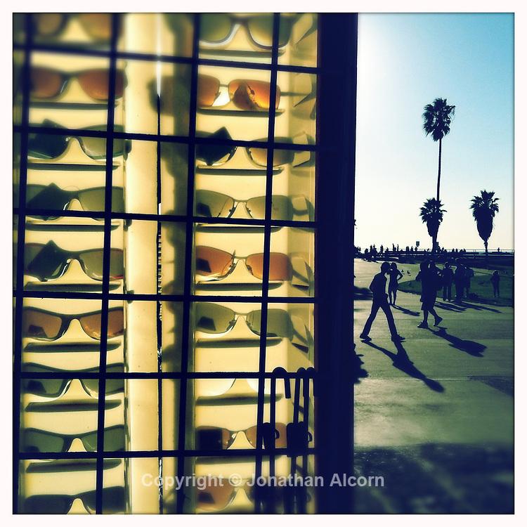 Shades for sale on Venice Beach boardwalk