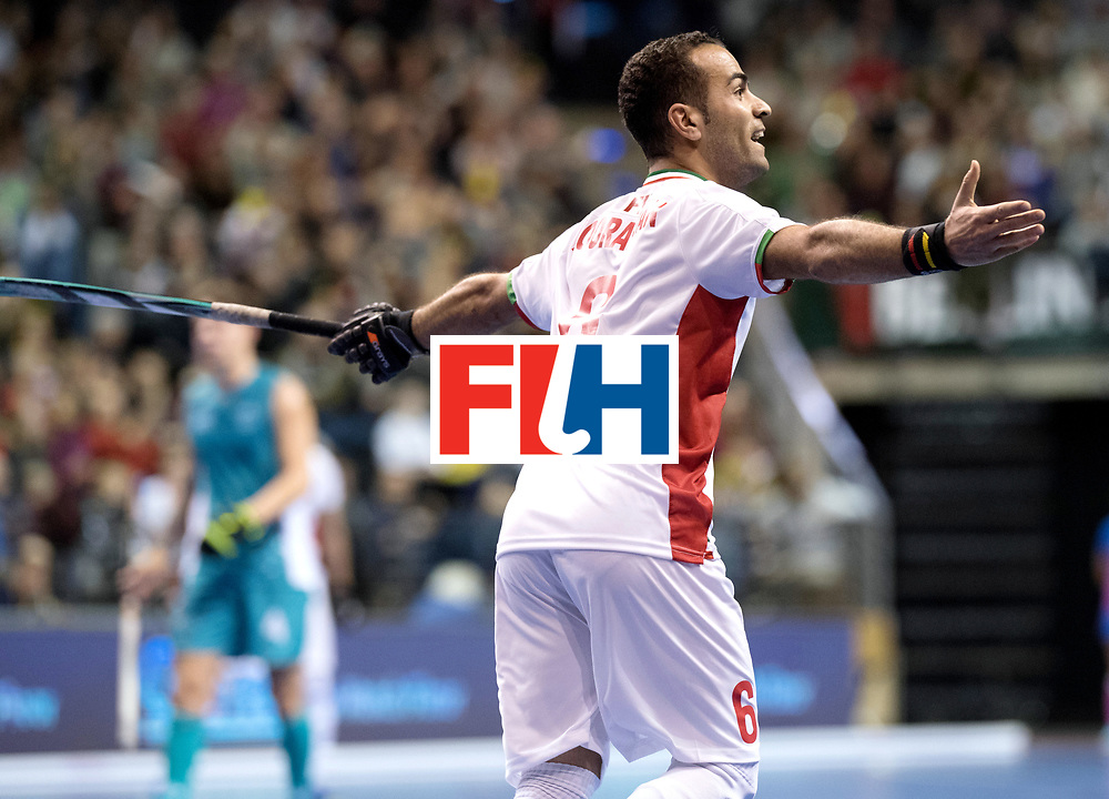 BERLIN - Indoor Hockey World Cup<br /> Bronze: Iran - Australia<br /> Iran won the 3rd place.<br /> foto: NOORANIAN Hamid.<br /> WORLDSPORTPICS COPYRIGHT FRANK UIJLENBROEK