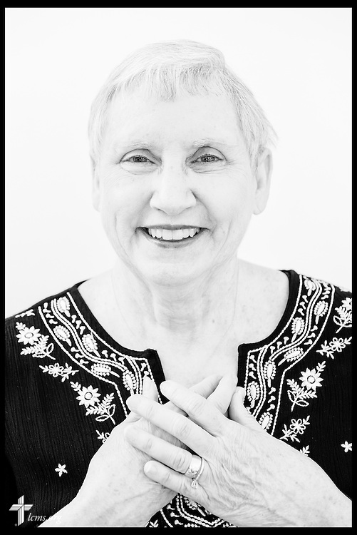 #EyesofLife Portrait of Jean Amundson on Wednesday, May 11, 2016, at her home in Cleburne, Texas. LCMS Communications/Erik M. Lunsford