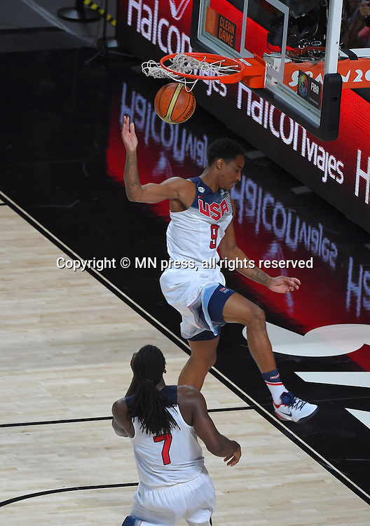 DEMAR DEROZAN of United states of America basketball team in action during Final FIBA World cup match against Serbia, Madrid, Spain Photo: MN PRESS PHOTO<br /> Basketball, Serbia, United states of America, Final, FIBA World cup Spain 2014