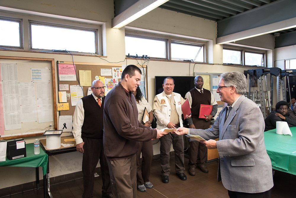 April Awardee Guillermo Castillo Salgado at Cable Car Division Systemwide Operator of the Month | July 28, 2017