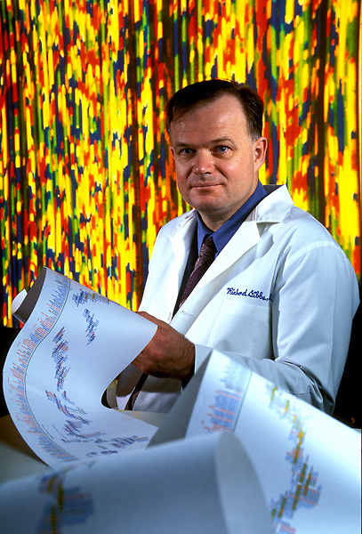 Portrait of Human Genome Researcher Dr. Richard A. Gibbs, PhD