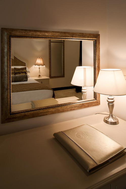 Interiors of room Provence at hotel boutique Villa Monticello, Accra, Ghana