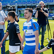 NLD/Zwolle/20180418 - Johnny de Mol onthult de nieuwe Eredivisiebal,