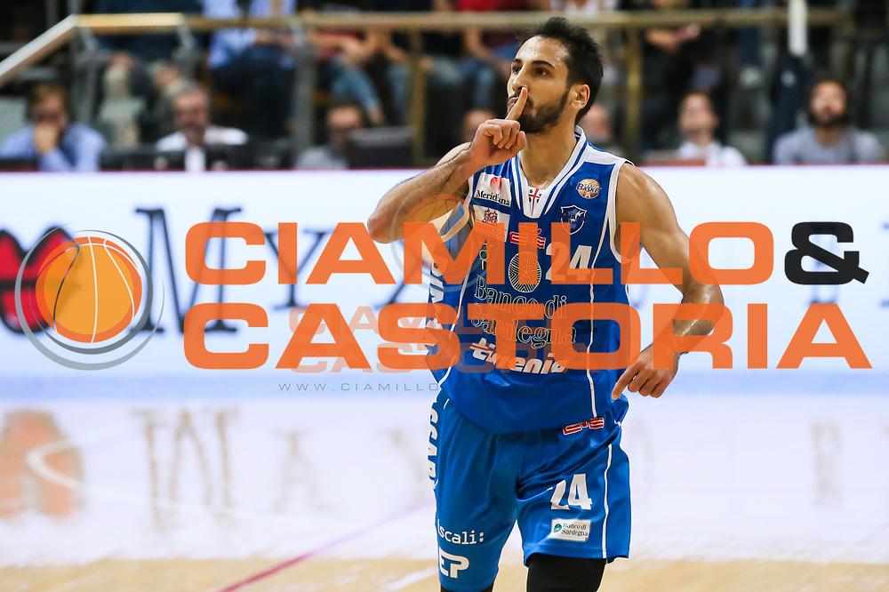 Rok Stipcevic<br /> Grissin Bon Pallacanestro Reggio Emilia - Banco di Sardegna Dinamo Sassari<br /> Lega Basket Serie A 2016/2017<br /> Bologna, 08/10/2016<br /> Foto Ciamillo-Castoria