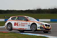 #31 Jack Goff GBR Team IHG Rewards Club BMW 125i M Sport during Media Day Test Session as part of the BTCC Media Day at Donington Park, Melbourne, Leicestershire, United Kingdom. March 22 2016. World Copyright Peter Taylor/PSP. Copy of publication required for printed pictures.  Every used picture is fee-liable.