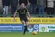 Forest Green Rovers Farrend Rawson(6) during the EFL Sky Bet League 2 match between Yeovil Town and Forest Green Rovers at Huish Park, Yeovil, England on 8 December 2018.