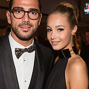 NLD/Amsterdam /20131212 - Vipnight Master of LXRY 2013 opening, Graziano Pelle en partner