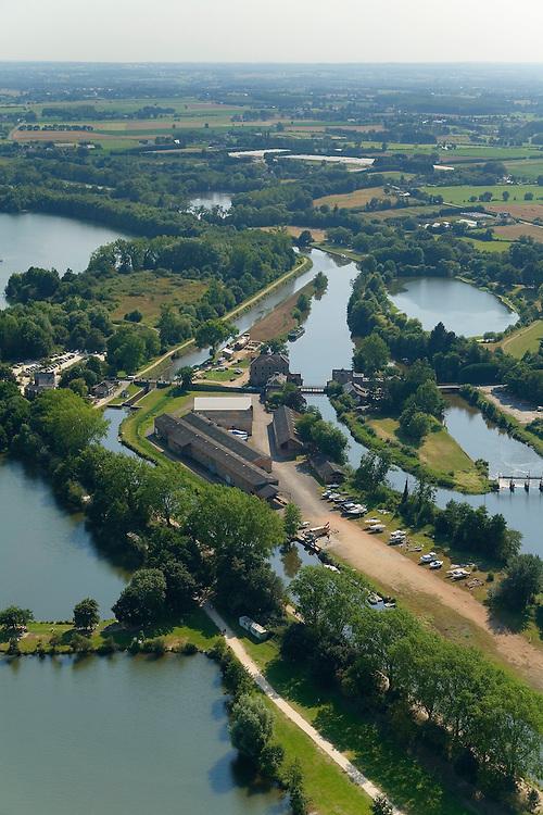 Le Rheu - Moulin et écluse d'Apigné sur la Vilaine